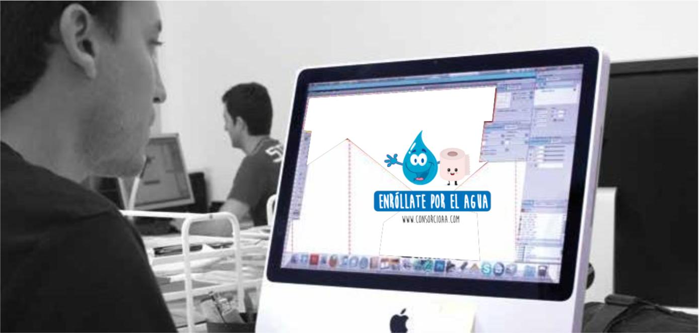 Campaña para consorcio de Aguas de Asturias